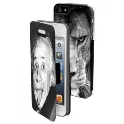 Housse portefeuille avec photo pour iPhone 5C