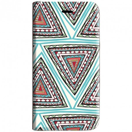 Housse portefeuille avec photo pour iPhone 6 Plus