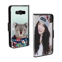 Housse portefeuille avec photo pour Samsung Galaxy A3