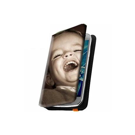 Housse portefeuille avec photo pour Sony Xperia E4g