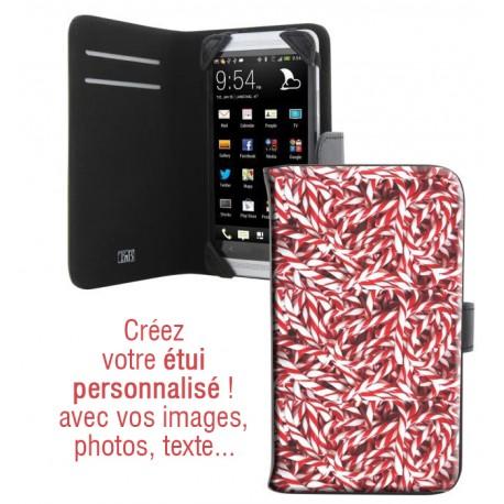 Housse portefeuille avec photo pour iPhone 6