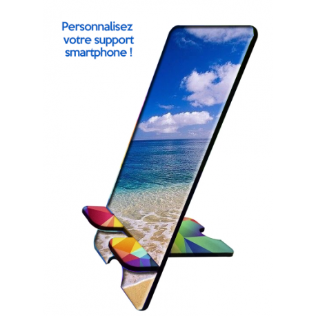 Support smartphone universel personnalisable