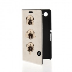 Etui housse portefeuille avec photo pour Sony Xperia E2