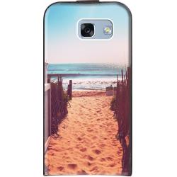 Housse à rabat vertical Samsung Galaxy A3 7 personnalisé