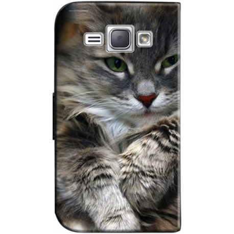 Housse portefeuille Samsung Galaxy J1 6 personnalisable