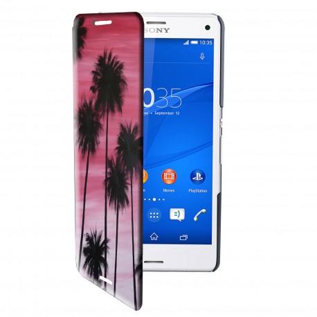 Etui housse portefeuille avec photo pour Sony Xperia Z3