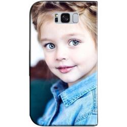 Housse portefeuille Samsung Galaxy S8 Plus personnalisée