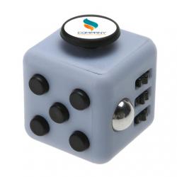 Hand cube personnalisable gris