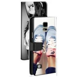 Etui housse portefeuille avec photo pour Samsung Galaxy Note 4