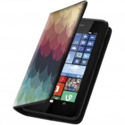 Etui housse portefeuille avec photo pour Microsoft Lumia 530