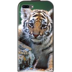 Housse verticale iPhone 8 Plus personnalisable Noir