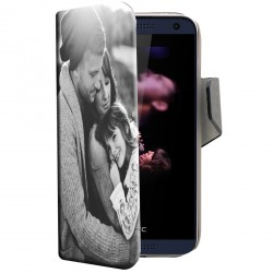 Etui housse portefeuille avec photo pour HTC Desire 610
