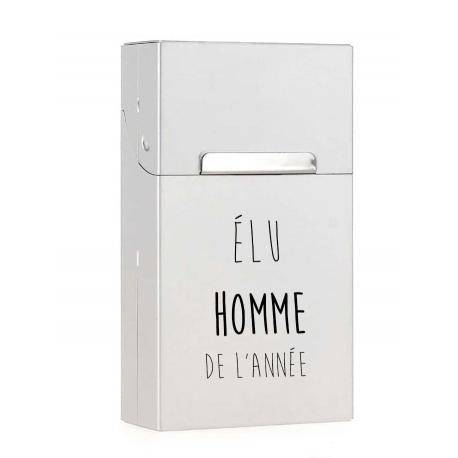 Etui à cigarettes personnalisable Aluminium - Cache paquet en métal alu