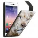 Etui housse verticale avec photo pour Huawei P7