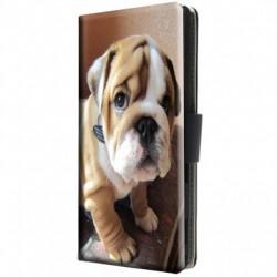 Etui housse portefeuille avec photo pour Sony Xperia M2