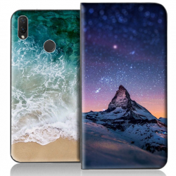 Housse portefeuille Huawei P Smart Plus personnalisable