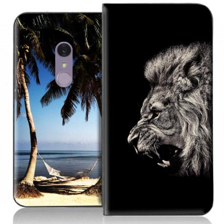 Housse portefeuille LG Q Stylus personnalisable