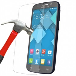 Protection en verre trempé pour Alcatel One Touch POP C7