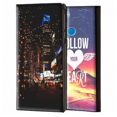 recognized brands popular stores good looking Housse portefeuille Honor 9 Lite personnalisable