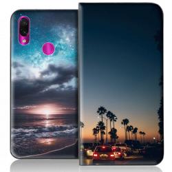 Housse portefeuille Xiaomi Redmi Note 7 personnalisable