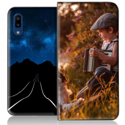 Housse portefeuille Samsung Galaxy A20 personnalisable