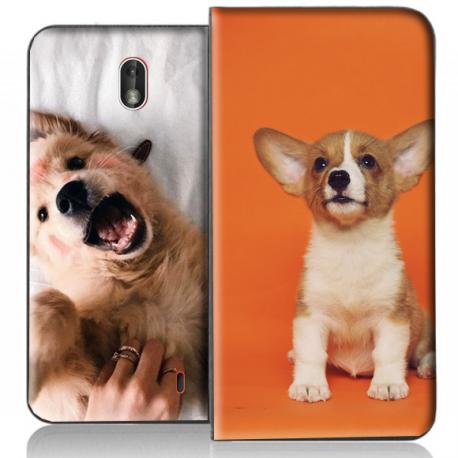 Housse portefeuille Nokia 1 personnalisable