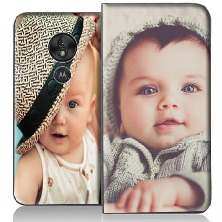 Housse portefeuille Motorola Moto G7 Play personnalisable