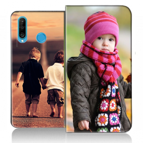 Housse portefeuille Huawei P30 Lite personnalisable