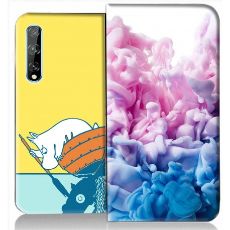 Housse portefeuille Huawei P Smart S 2020 personnalisable
