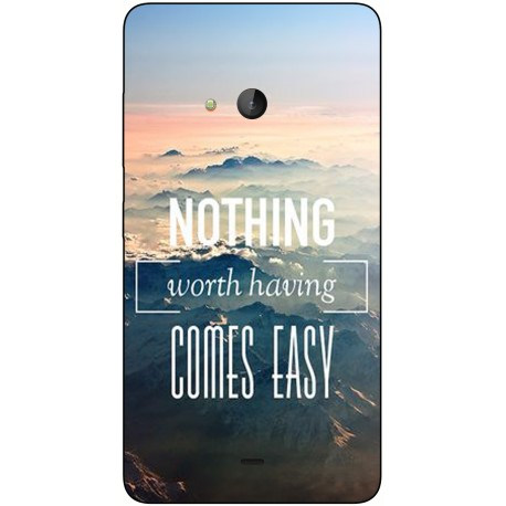 Coque avec photo Microsoft Lumia 540
