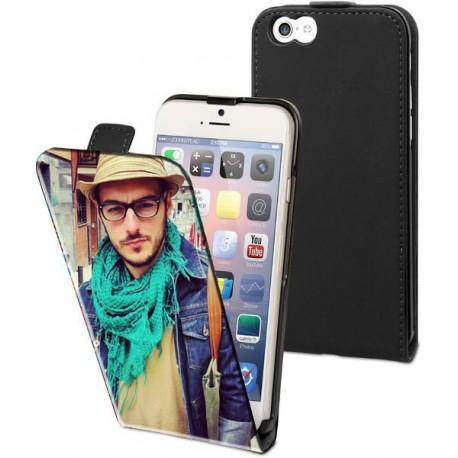 Housse verticale avec photo pour iPhone 6