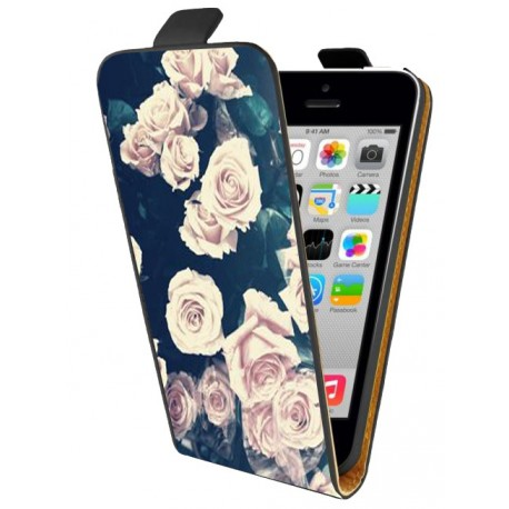 Housse verticale avec photo pour iPhone 5