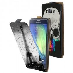 Etui housse verticale avec photo pour Samsung Galaxy A7