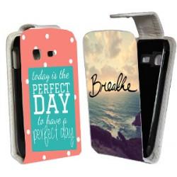 Etui housse verticale avec photo pour Samsung Galaxy Pocket 2