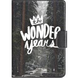 Housse portefeuille avec photo iPad Mini