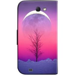 Housse portefeuille avec photo Samsung Galaxy Note 2