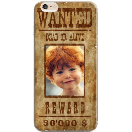 Coque avec photo iPhone 6 / iPhone 6S Décor Wanted