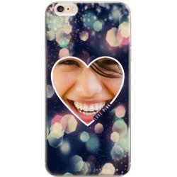 Coque personnaisable avec photo iPhone 6 / iPhone 6S Décor Love Pink
