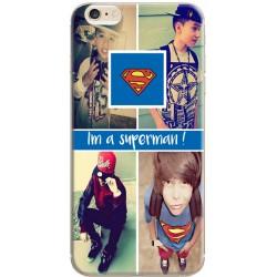 Coque avec photo montage Superman pour iPhone 6 / iPhone 6S