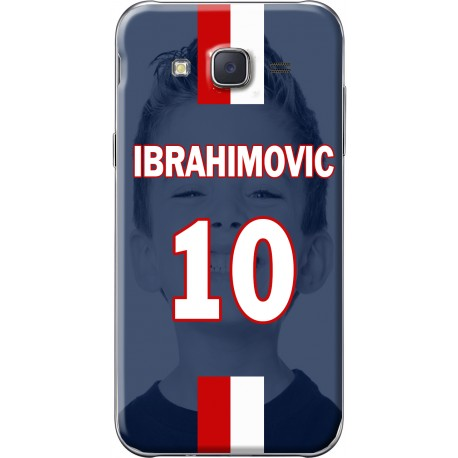 Coque avec photo montage PSG Ibrahimovic Samsung Galaxy J5