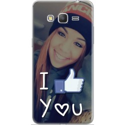 Coque avec photo montage I Like You Samsung Galaxy Core Prime