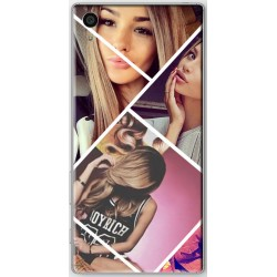 Coque avec pêle-mêle photo collage Sony Xperia Z5