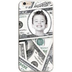 "Coque personnalisable iPhone 6/6S avec photo ""Dollar"""