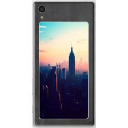 Coque avec photo fond tableau noir Sony Xperia Z5